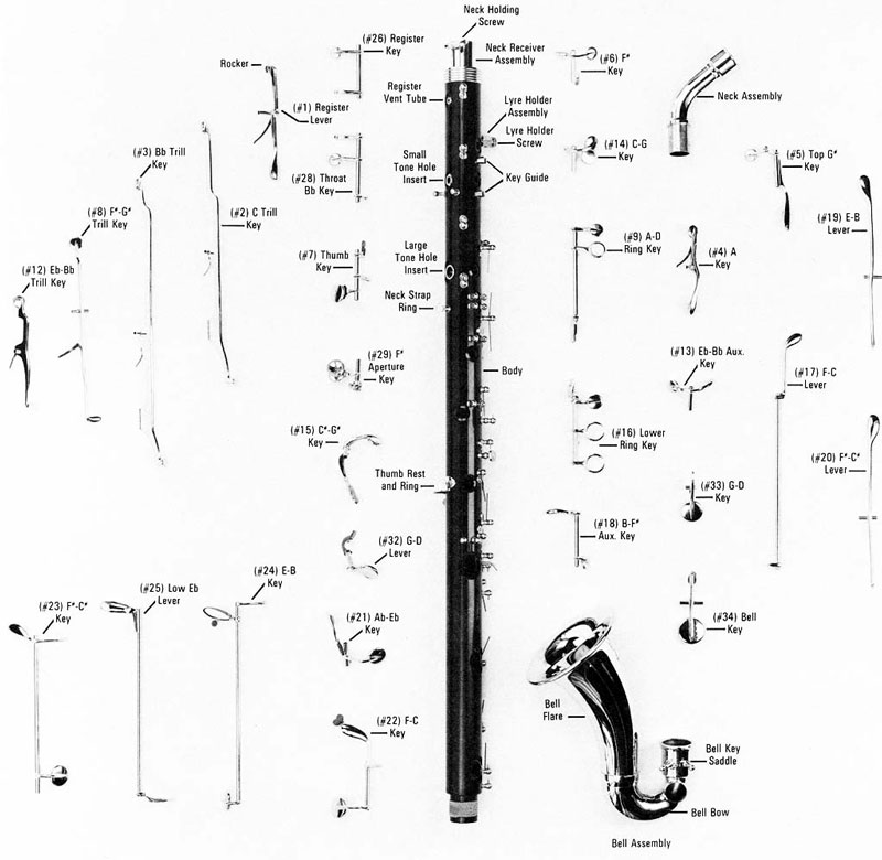 clarinet parts However, by knowing how to detect these important lines, and with a minimum of  rewrites, important alto clarinet parts can be added to your.
