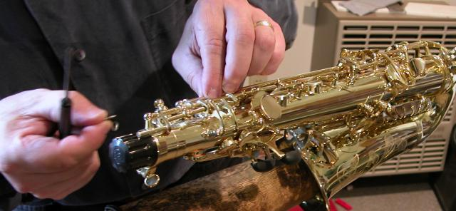 Woodwind and Brass Workshop - Saxophone Repairs - Sax Repairs